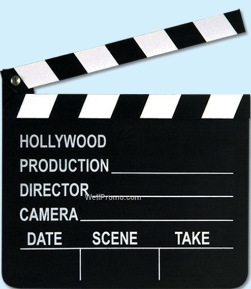 7-x8--Movie-Set-Clapboard-W--C-60686