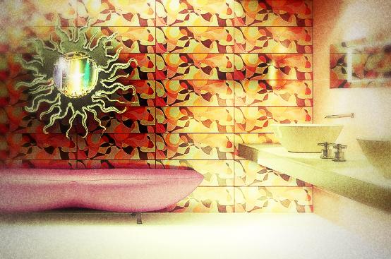 Abstract-Bathroom-Wall-Decor-Ideas-Karim-Rashid-Photo