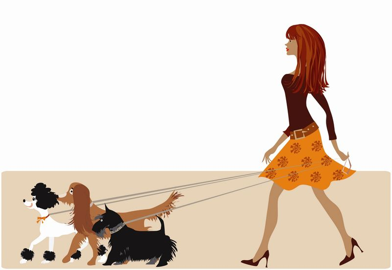 Tricks-for-dogs-walking-on-leash