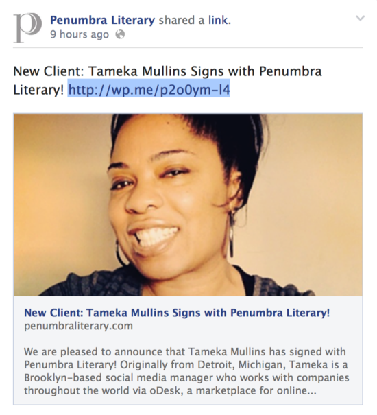 TAM Penumbra Literary Announcement
